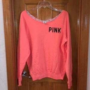 Tangerine Pink Sweatshirt